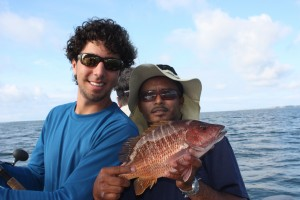 Panama-Big-Game-Fishing-Club-Federico-and-mate-with-cubera-snapper--300x200